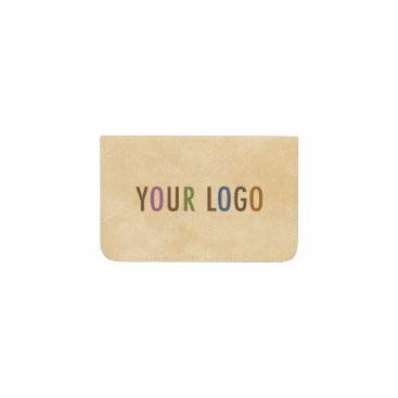 Professional Business Custom Business Card Holder Wallet with Logo