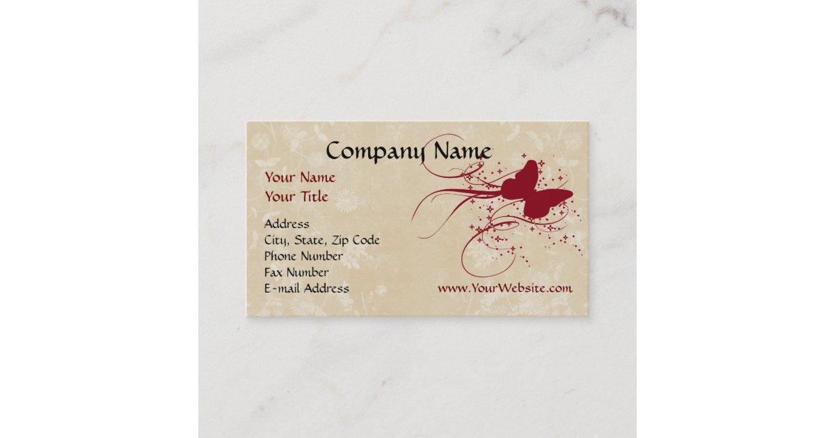 how to open iphone custom business card butterfly design business 14301