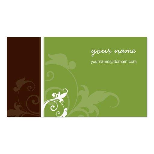 CUSTOM BUSINESS CARD :: verve :: Angel