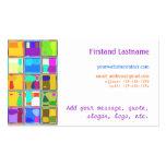 Custom Business Cards Deco Glass Tile Digital Art