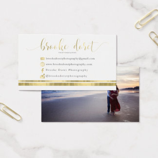 Custom Business Cards for Brooke D