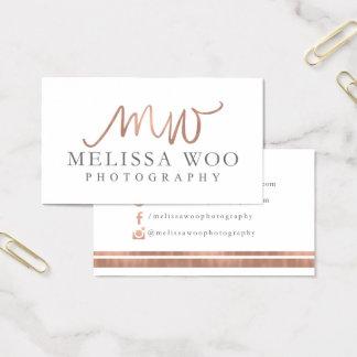 Custom Business Cards: Melissa Woo Business Card