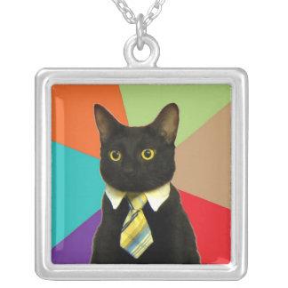 Custom Business Cat Necklace