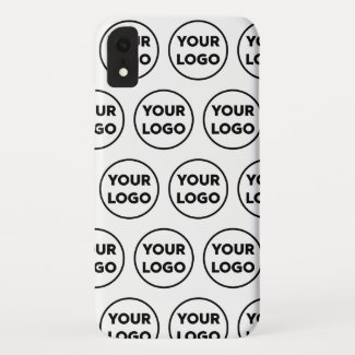 Custom Business Company Logo Pattern Case-Mate iPhone Case