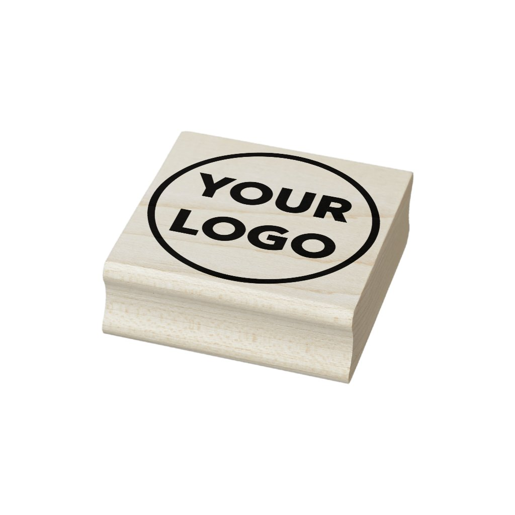 Custom Business Company Logo Rubber Stamp