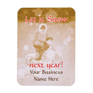 Custom Business Gifts Greeting Refrigerator Magnet