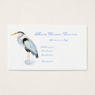 Custom Business Great Blue Heron Bird Business Card