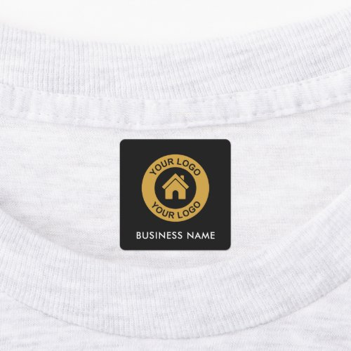 Custom Business Logo and Text Fabric Clothing Labe Labels