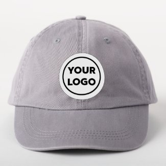 Custom Business Logo Branded Circle Patch