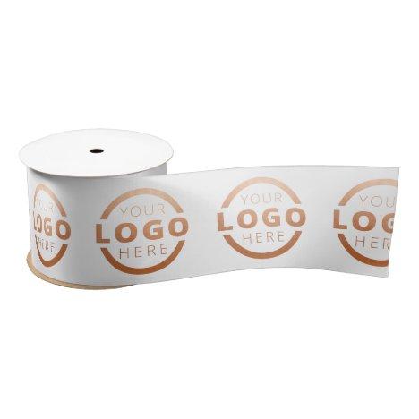 Custom Business Logo Corporate Marketing Promo Satin Ribbon