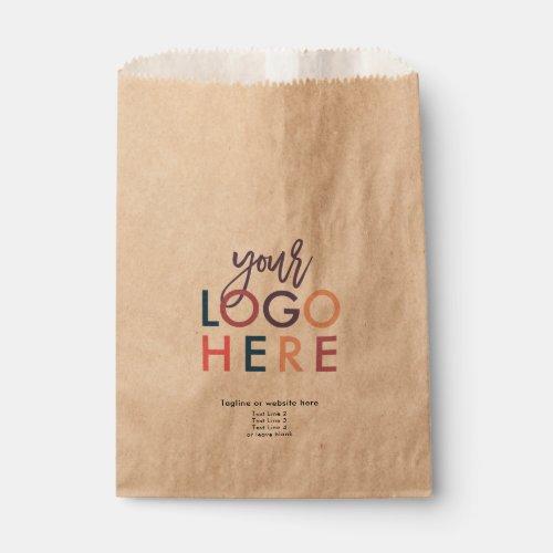 Custom Business Logo Low Minimum Order Text Favor Bag