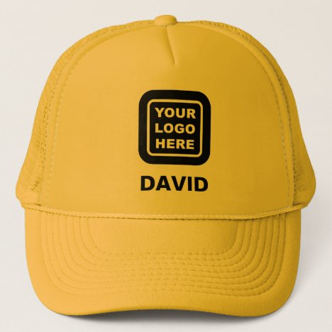 Custom Business Logo Or Image And Name Trucker Hat