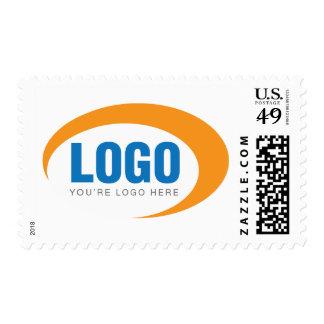 Custom Business Logo Postage Stamps