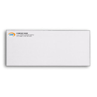 Custom Business Logo Pre-Addressed #10 Envelopes