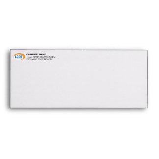 Custom Business Logo Pre-Addressed #10 Envelopes