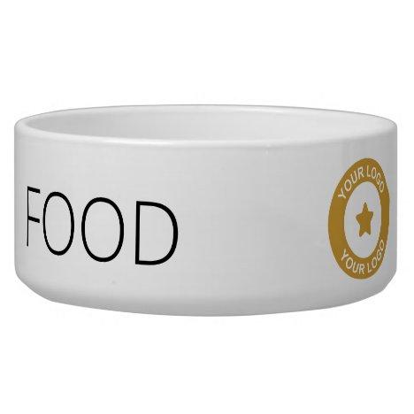 Custom Business Logo Promotional Pet Feeding Bowl