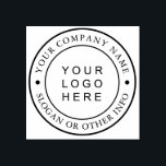"""Custom Business Logo Rubber Stamp<br><div class=""""desc"""">Create Your Own Custom Business Logo Rubber Stamp. For more advanced customization of this design,  Please click the """"Customize further"""" link.</div>"""