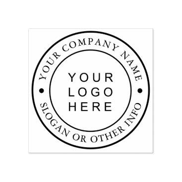 Custom Business Logo Rubber Stamp