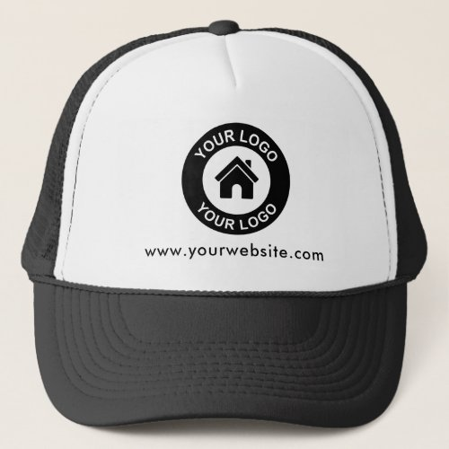 Custom Business Logo Website Promotional Baseball Trucker Hat