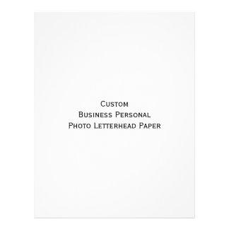 Custom Business Personal Photo Letterhead Paper