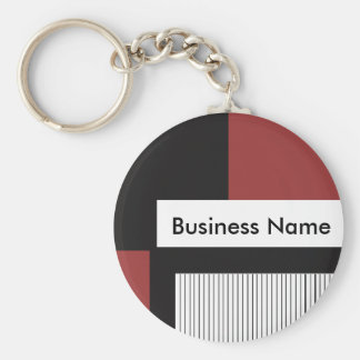 Custom Business Products1 Basic Round Button Keychain