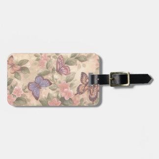 Custom Butterfly Luggage Tag
