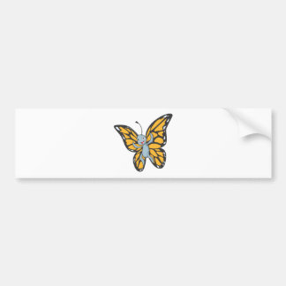 Custom Butterfly Monarch Cartoon Shirt Car Bumper Sticker