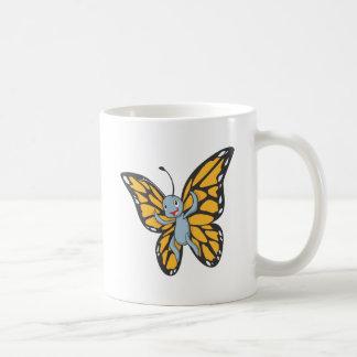 Custom Butterfly Monarch Cartoon Shirt Classic White Coffee Mug