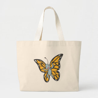 Custom Butterfly Monarch Cartoon Shirt Jumbo Tote Bag
