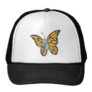Custom Butterfly Monarch Cartoon Shirt Trucker Hat