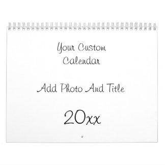 Custom Calendar Add Photo And Text