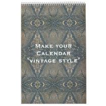 """Custom Calendar """"VINTAGE STYLE""""   your photos"""