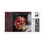Custom Calla Lilies Spot Color Fall Wedding Postage
