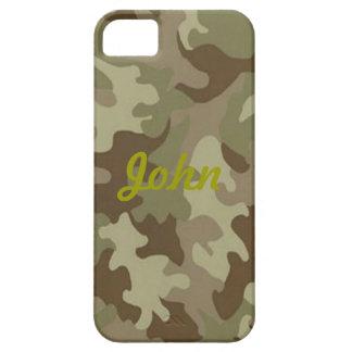 Custom Camouflage iPhone 5 Case