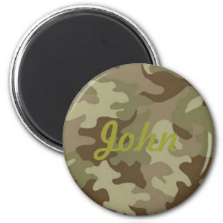 Custom Camouflage Magnet