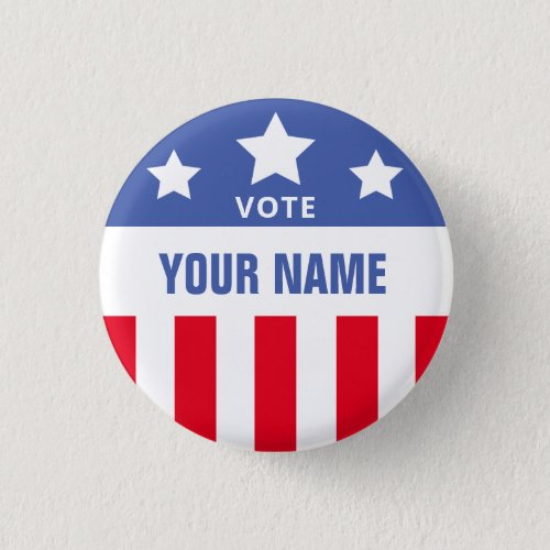 Custom Campaign Election Vote Template Button