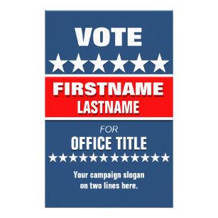 voting flyers zazzle