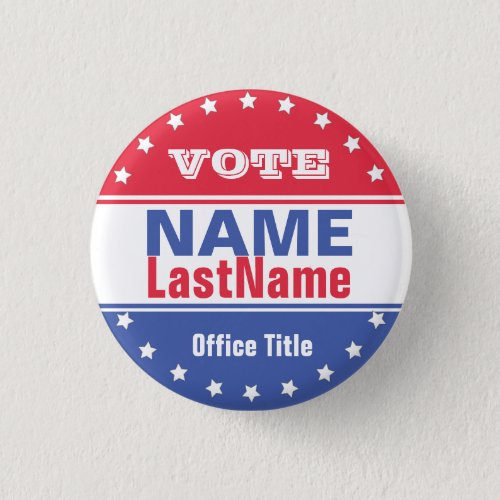 Custom Campaign Template for Elections Button