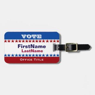 Custom Campaign Template Luggage Tag