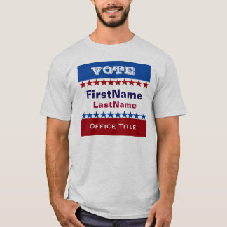 Custom Campaign Template T-Shirt