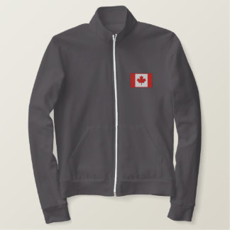 Custom Canadian Hockey Team Embroidered Jacket