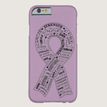 Custom Cancer Awareness Phone Case - Lavender