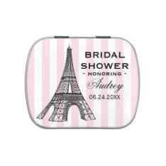Custom Candy Favor Tin | Paris France Theme Jelly Belly Candy Tins at Zazzle