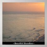 Custom Canvas Print ~Beautiful Shoreline~Ocean