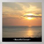Custom Canvas Print ~Beautiful Sunset~