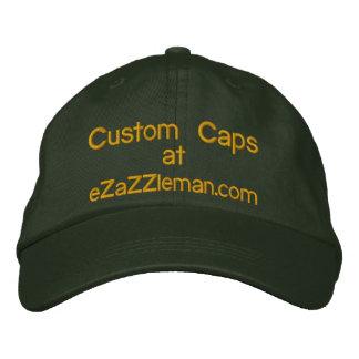 Custom Caps @, eZaZZleman.com Embroidered Hat