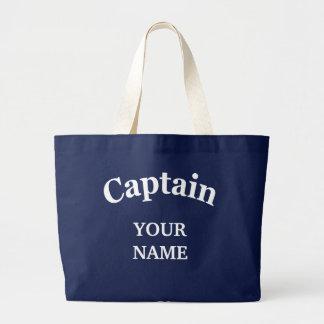 CUSTOM CAPTAIN LARGE TOTE BAG