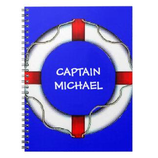 Custom Captain Notebook