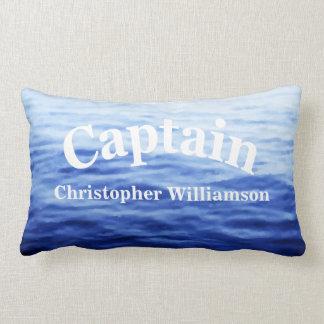 Custom Captain template Lumbar Pillow