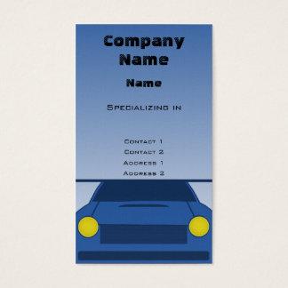Custom Car Business Card